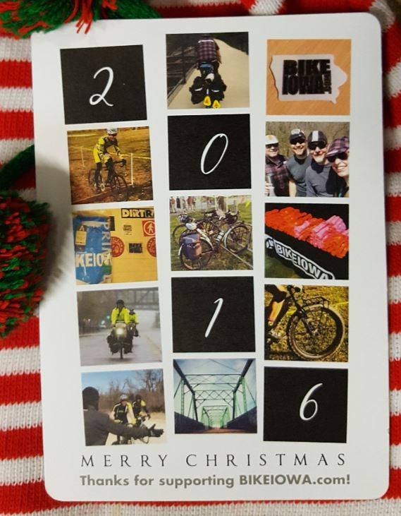 HAPPY HOLIDAYS!! BIKEIOWA 2016