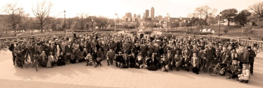 2013 Tweed Ride - Des Moines